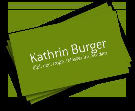 Kathrin Burger Logo